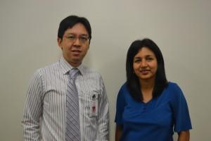 Dr. Fong and Dr. Tara